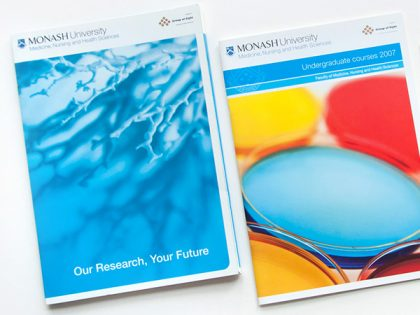 Monash University print publications