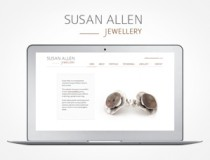 Susan Allen Jewellery website