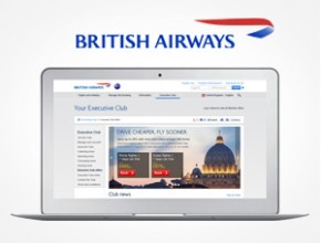 British Airways Executive Club – offers landing pages