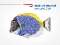 British Airways Executive Club campaign