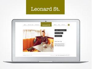 Leonard St. website