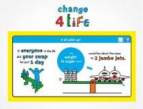 Change 4 Life 'Smart Swap' visual concepts