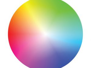 Life is like a colour wheel