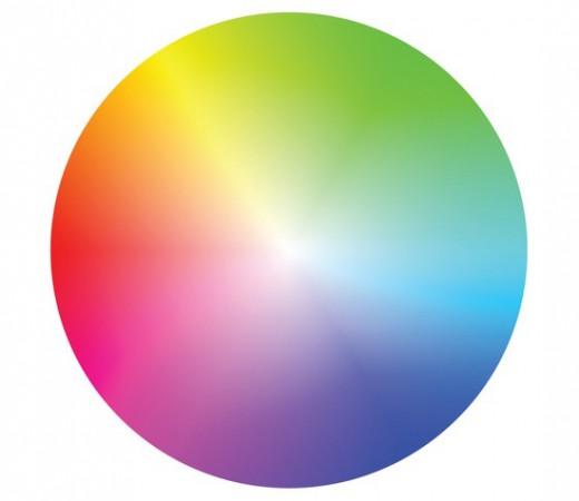 Life is like a colour wheel