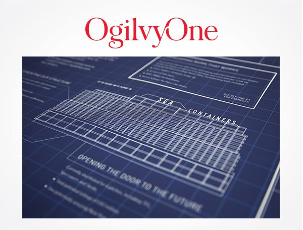 OgilvyOne 'Agency of the Year' submission poster