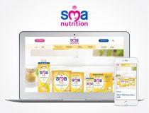 SMA Nutrition website redesign & digital identity